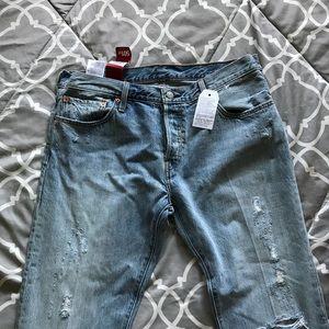 501 Levi's original fit jeans